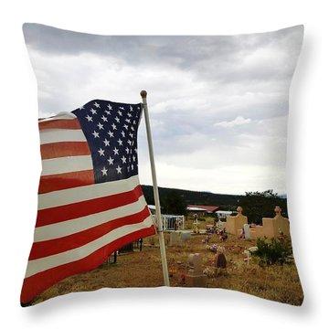 Cerro, New Mexico Throw Pillow