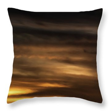 Throw Pillow featuring the photograph Cerro Pedernal by Britt Runyon