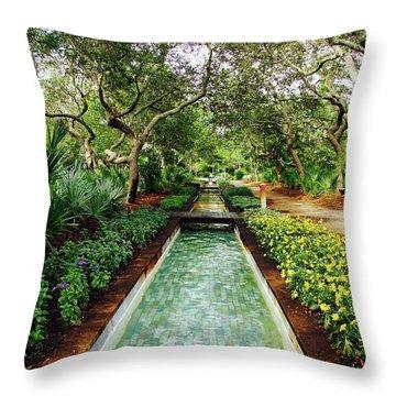 Cerulean Park Throw Pillow
