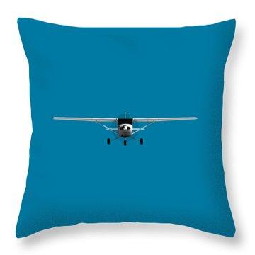 Cessna 152 Throw Pillow
