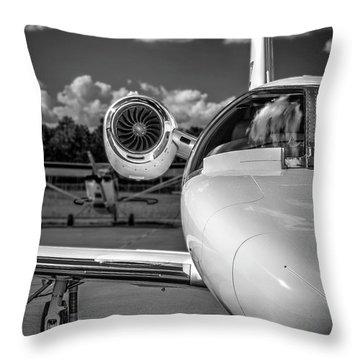 Cessna Citation Throw Pillow