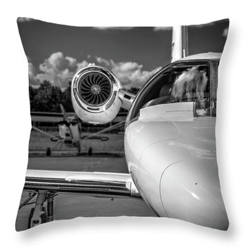 Cessna Citation Throw Pillow