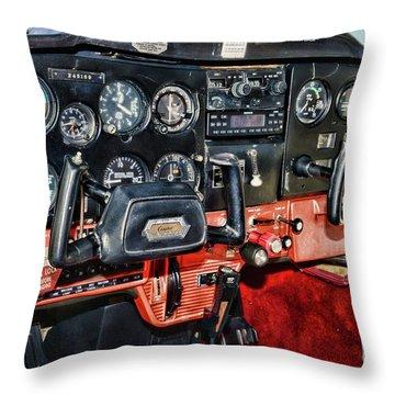 Cessna Cockpit Throw Pillow
