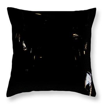 Throw Pillow featuring the photograph Cessna Views II by Paul Job