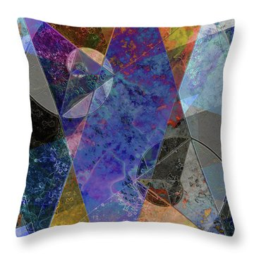 Throw Pillow featuring the digital art C'est La Vie by Kenneth Armand Johnson