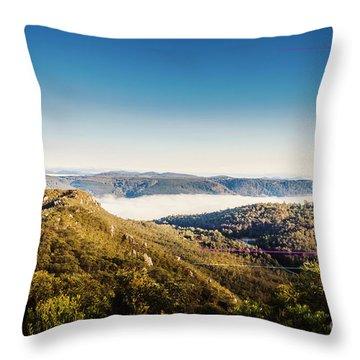 Cethana Range Tasmania Throw Pillow