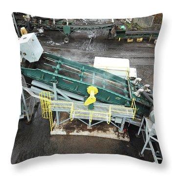 Cg Vss Aerial Throw Pillow