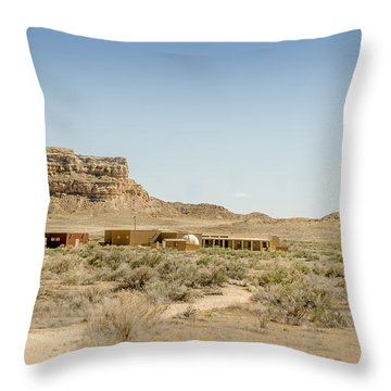 Chaco Culture National Historic Park Throw Pillow