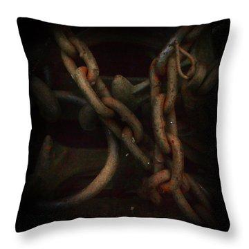 Plate 002- Chain - Metallica Series Throw Pillow