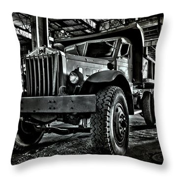 Chain Drive Sterling Throw Pillow