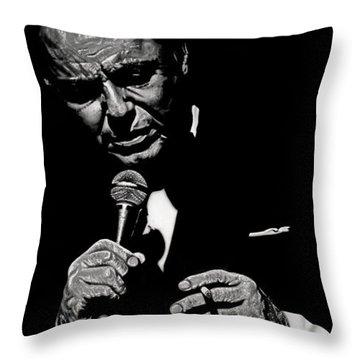 Chairman Of The Board Throw Pillow by Dan Menta