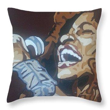 Chaka Khan Throw Pillow
