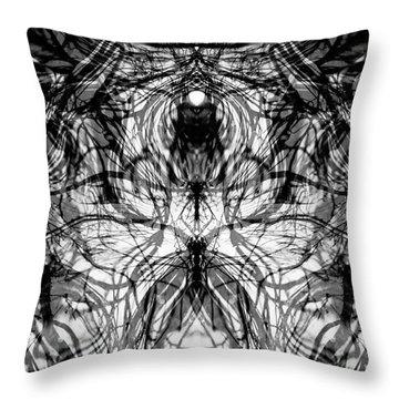 Chakra Flow Throw Pillow