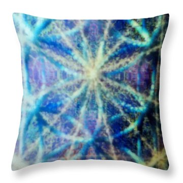 Chalicell Torq And Blue Vortex F O L 2 Throw Pillow