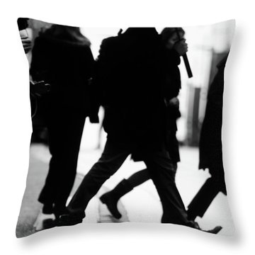 Challenge Of Peace  Throw Pillow by Empty Wall