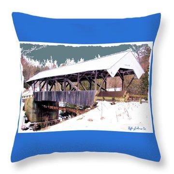 Chamberlain Bridge Throw Pillow