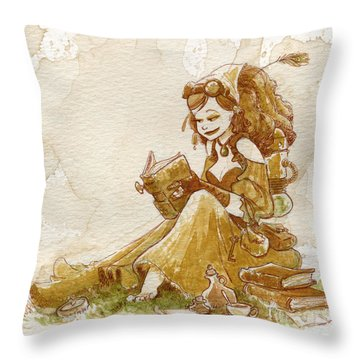 Woman Throw Pillows