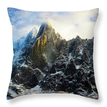 Chamonix Throw Pillow