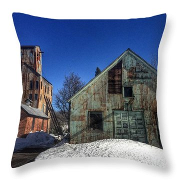 Champion Mine- Waiting For History Throw Pillow