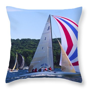 Champs - Lake Geneva Wisconsin Throw Pillow