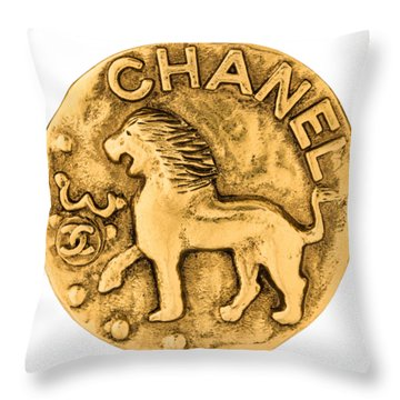 Chanel Jewelry-1 Throw Pillow