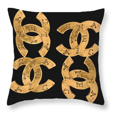 Chanel Jewelry-18 Throw Pillow