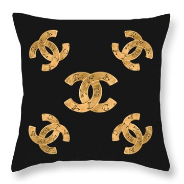 Chanel Jewelry-19 Throw Pillow