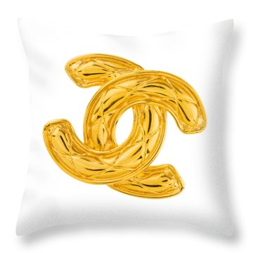 Chanel Jewelry-4 Throw Pillow