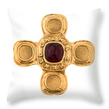 Chanel Jewelry-6 Throw Pillow
