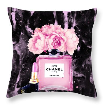 Chanel Throw Pillows
