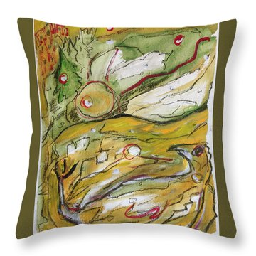 Change Of The Seasons Throw Pillow