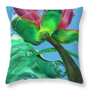Change Your Perspective Throw Pillow