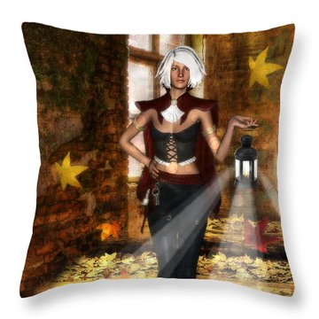Changer Of Seasons Throw Pillow
