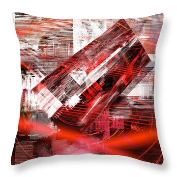 Changing Ideas Throw Pillow