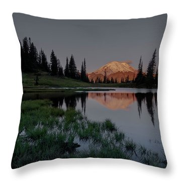 Changing Lights Throw Pillow