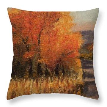 Changing Season Throw Pillow