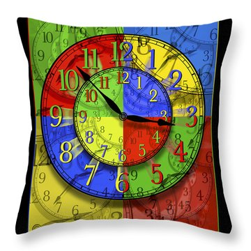 Changing Times Throw Pillow by Mike McGlothlen