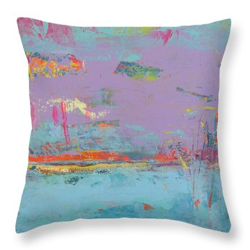 Chant D'oiseaux 1 Throw Pillow
