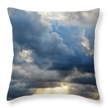 Celestial Light Throw Pillow