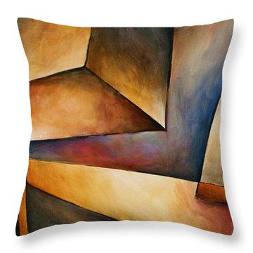 Chaos Throw Pillow by Michael Lang