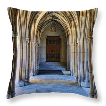 Chapel Arches Throw Pillow
