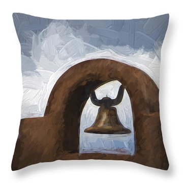 Chapel Bell Chimayo Painterly Effect Throw Pillow