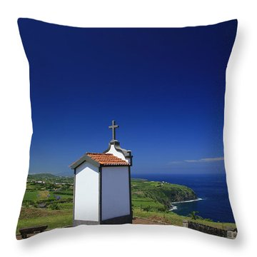 Chapel Throw Pillow by Gaspar Avila