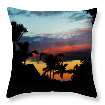 Chapel Hill Afternoon Throw Pillow