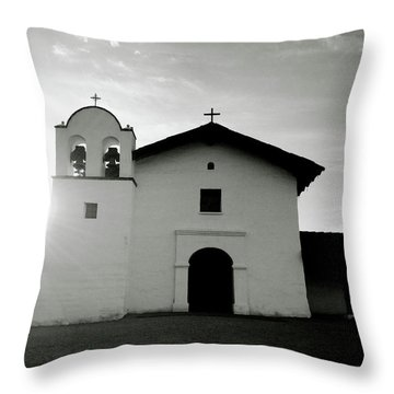 Chapel In The Shadows- Art By Linda Woods Throw Pillow