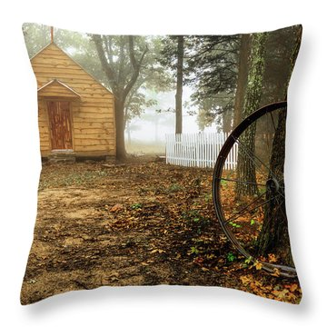 Chapel In The Woods 1 Throw Pillow