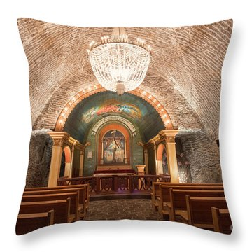Throw Pillow featuring the photograph Chapel  by Juli Scalzi