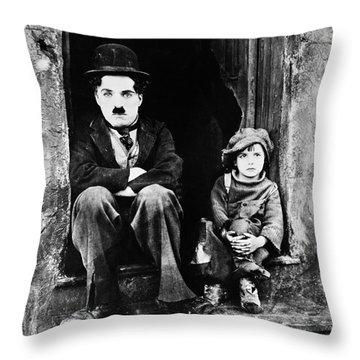 Chaplin: The Kid, 1921 Throw Pillow