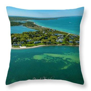 Chapoquoit Island Throw Pillow