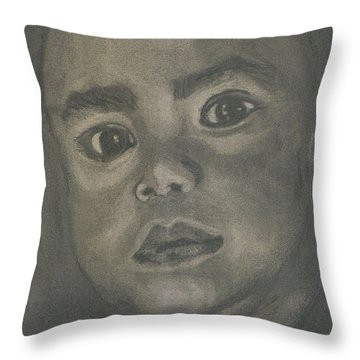 Charboy Throw Pillow